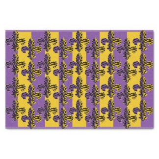 Papier de soie de soie de Fleur de lis de tigre