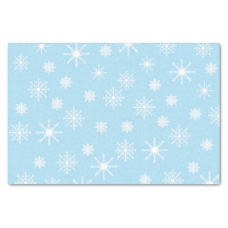Papier de soie de soie de flocons de neige