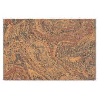 Papier de soie de soie de marbre élégant
