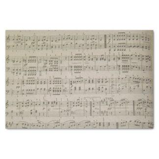 Papier de soie de soie de Menuetto