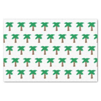 Papier de soie de soie de palmier de vacances