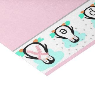 Papier de soie de soie de pingouin d'ESPOIR