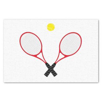 Papier de soie de soie de raquettes de tennis