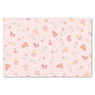 Papier de soie de soie de roses pâles