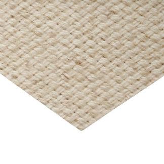 Papier de soie de soie de toile de jute de faux de