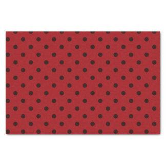 Papier de soie de soie moyen et rouge foncé de