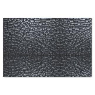 Papier de soie de soie noir de cadeau d'imaginaire