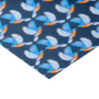 Papier de soie de soie oriental volant d'oiseaux