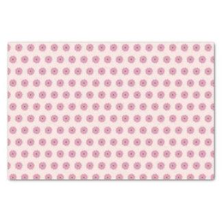 Papier de soie de soie rose de marguerite