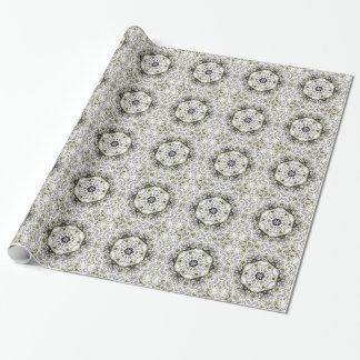 Papier d'emballage de complexité élégante papier cadeau