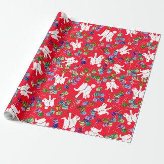 Papier d'emballage d'objet superflu de cadeaux de papier cadeau