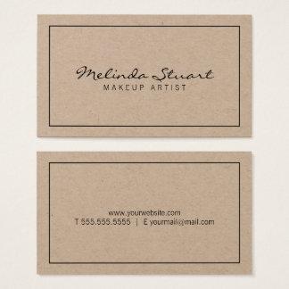 Papier d'emballage moderne professionnel cartes de visite