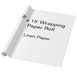 Papier d'emballage (petit pain 2x15, papier de papier cadeau noël