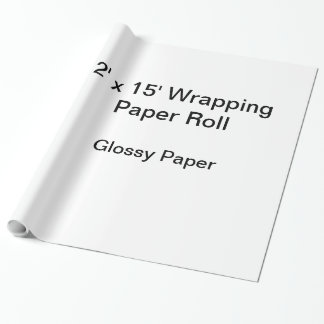 Papier d'emballage (petit pain 2x15, papier papiers cadeaux noël