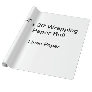 Papier d'emballage (petit pain 2x30, papier de papiers cadeaux