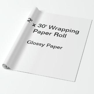 Papier d'emballage (petit pain 2x30, papier papier cadeau