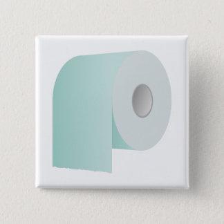 Papier hygiénique badge carré 5 cm