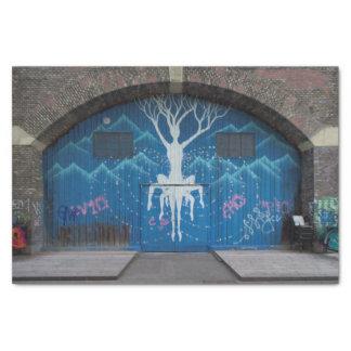 Papier Mousseline Arbre de graffiti de la vie