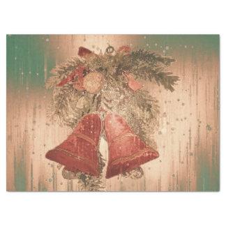 Papier Mousseline cloches de Noël vintages