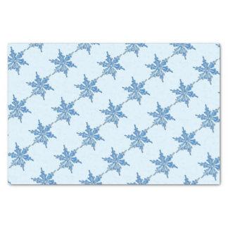 Papier Mousseline Conception de flocon de neige d'hiver pour Noël 3