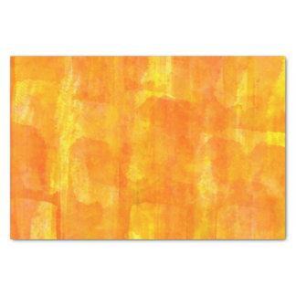 Papier Mousseline Copie orange d'aquarelle partout