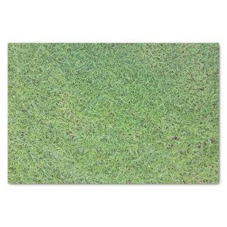Papier Mousseline Coupez la pelouse d'herbe