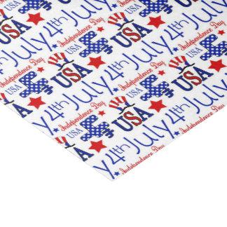 Papier Mousseline De juillet tissu prarty de motif patriotique