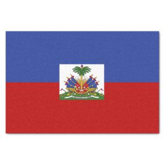 Papier Mousseline Drapeau haïtien classique