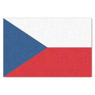 Papier Mousseline Drapeau patriotique de République Tchèque