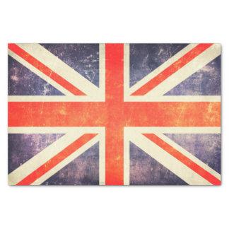 Papier Mousseline Drapeau vintage d'Union Jack