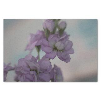 Papier Mousseline Fleurs courantes de lavande