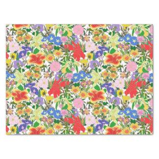 Papier Mousseline Fleurs de matin
