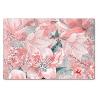 Papier Mousseline flowers2bflowers et #flowers de motif d'oiseaux