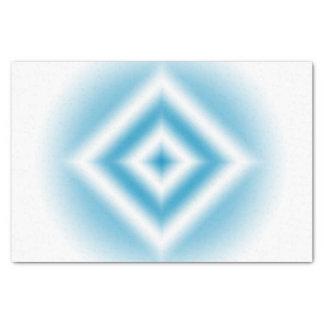 Papier Mousseline gradient bleu de diamant de Personnaliser-ciel