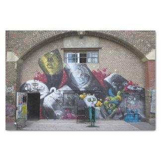 Papier Mousseline Graffiti sur Stadtbahnbogen, Wien Österreich