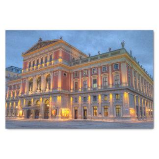 Papier Mousseline Grand hall de saucisse Musikverein, Vienne,