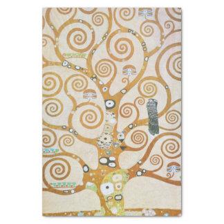 Papier Mousseline Gustav Klimt l'arbre de l'art Nouveau de la vie