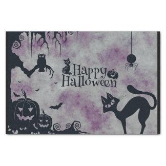 Papier Mousseline Halloween heureux