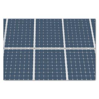 Papier Mousseline Image d'un panneau d'énergie solaire drôle
