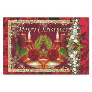 Papier Mousseline Joyeux Noël