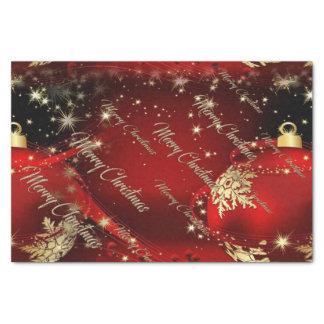 Papier Mousseline Joyeux Noël et une bonne année