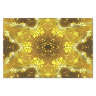 Papier Mousseline Kaléidoscope d'or