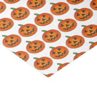 Papier Mousseline Lanterne orange heureuse d'o de Jack de citrouille