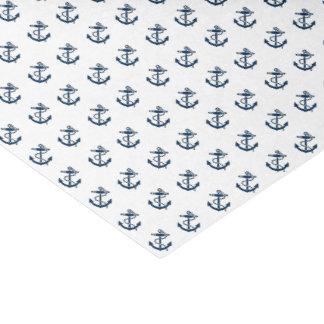 Papier Mousseline Les ancres loin nautiques personnalisent
