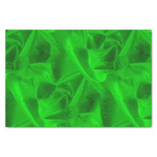 Papier Mousseline Les riches ont chiffonné la texture verte