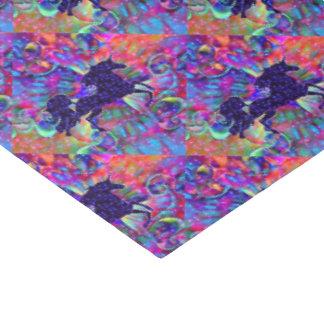 Papier Mousseline LICORNE DE L'UNIVERS multicolore