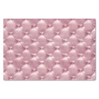 Papier Mousseline Lux en cuir tufté métallique en pastel VIP de rose