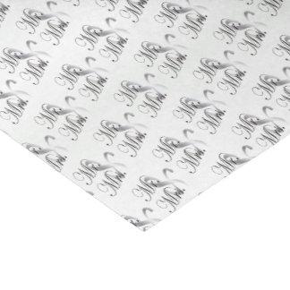 Papier Mousseline M. Et Mme Pattern