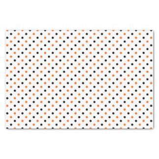 Papier Mousseline motif pointillé de Halloween de pois