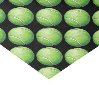 Papier Mousseline Motifs de balle de tennis